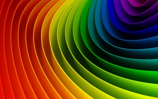 Curved colorful rainbow wallpapers and stock photos
