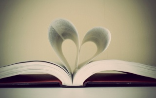 Heart shaped pages wallpapers and stock photos