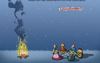 Campfire people wallpapers and stock photos