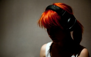 Redhead and music wallpapers and stock photos