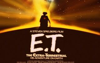 ET Vintage Poster wallpapers and stock photos