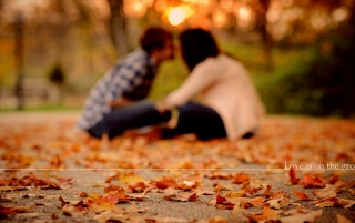 Autumn love wallpapers and stock photos