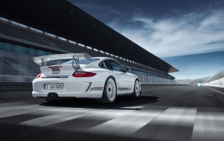 GT3 RS rear angle wallpapers and stock photos