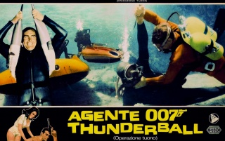 James Bond in Thunderball wallpapers and stock photos