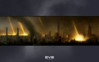 EVE online city wallpapers and stock photos