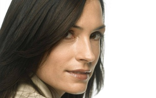 Famke Janssen look wallpapers and stock photos