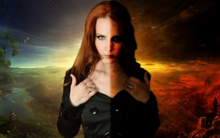 Simone Simons wallpapers and stock photos