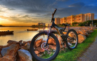 City Bike wallpapers and stock photos