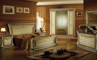 Luxus Schlafzimmer wallpapers and stock photos