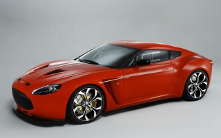 AM Zagato front angle wallpapers and stock photos