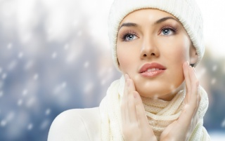 Hermosa chica de invierno wallpapers and stock photos