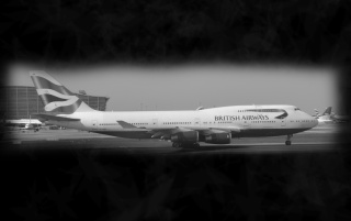 British Airways airliner wallpapers and stock photos