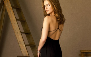 Keri Russel back wallpapers and stock photos