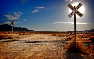 Railroad Crossing wallpapers and stock photos