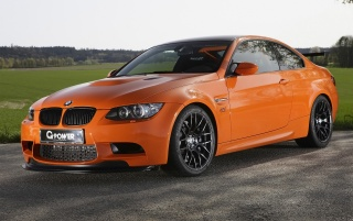 G Power M3 GTS front angle wallpapers and stock photos
