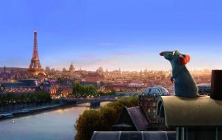 Ratatouille watching over wallpapers and stock photos