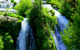 Waterfall wallpapers and stock photos