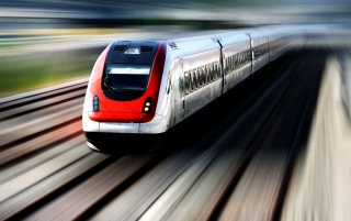 Speed Train wallpapers and stock photos