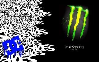 Random: Monster DC Shoes Wallpaper