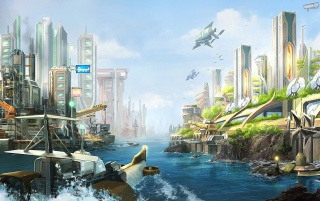 Anno 2070 wallpapers and stock photos