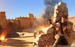 Uncharted 3 wallpapers and stock photos