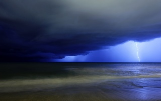 Night Storm wallpapers and stock photos