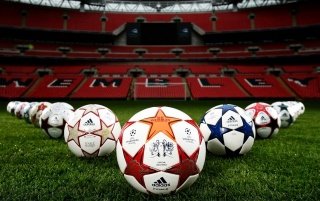 Champions League Balls wallpapers and stock photos