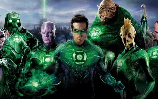 Green Lantern Superheroes wallpapers and stock photos