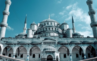 Grand Mosque Istanbul wallpapers and stock photos