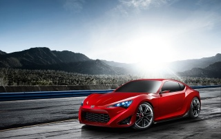 Random: Scion FR-S Concept Front And Side