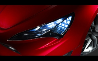Scion FR-S Concept Headlights wallpapers and stock photos