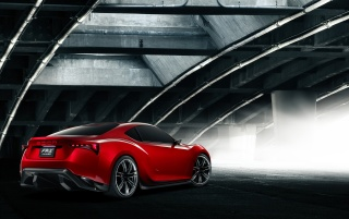 Scion FR-S Concept Read And Side wallpapers and stock photos
