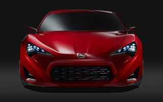 Scion FR-S-Konzept vorne wallpapers and stock photos