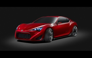 Random: Scion FR-S Concept Studio Front And Side