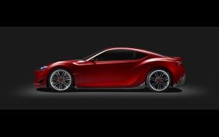 Random: Scion FR-S Concept Studio Side