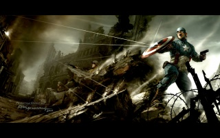 Captain America The First Avenger wallpapers and stock photos