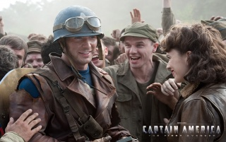 Captain America The First Avenger Movie wallpapers and stock photos