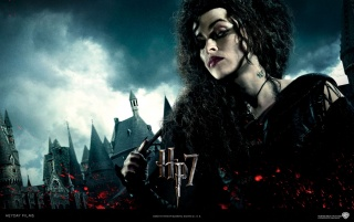 Harry Potter and the Deathly Hallows:  Bellatrix Lestrange wallpapers and stock photos