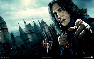 Harry Potter and the Deathly Hallows: Severus Snape wallpapers and stock photos