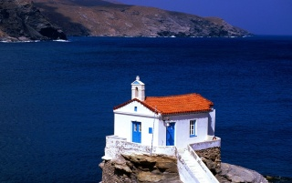 Random: Thalassini Church - Cyclades Islands