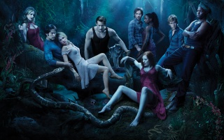 True Blood Cast wallpapers and stock photos