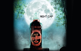 Tru Blood Bottle 2 wallpapers and stock photos