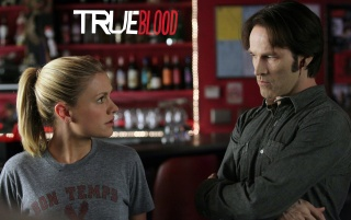 True Blood: Bill und Sookie wallpapers and stock photos