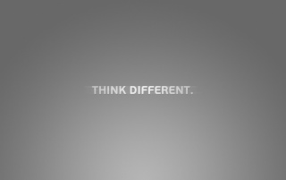 Think Different wallpapers and stock photos