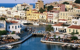 Agios Nikolaos  - Greece wallpapers and stock photos