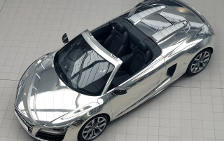 Audi R8 V10 Spider wallpapers and stock photos