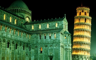 Leaning Tower Pisa wallpapers and stock photos