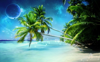 Dream Beach wallpapers and stock photos