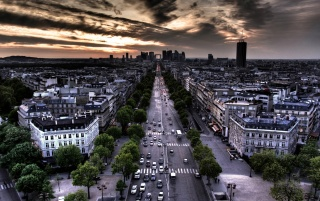 Streets Of Paris wallpapers and stock photos