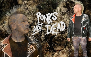 Punks Not Dead Grunge wallpapers and stock photos